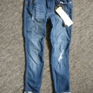 1822 Berlin distressed ankle skinny jeans 28 (6)